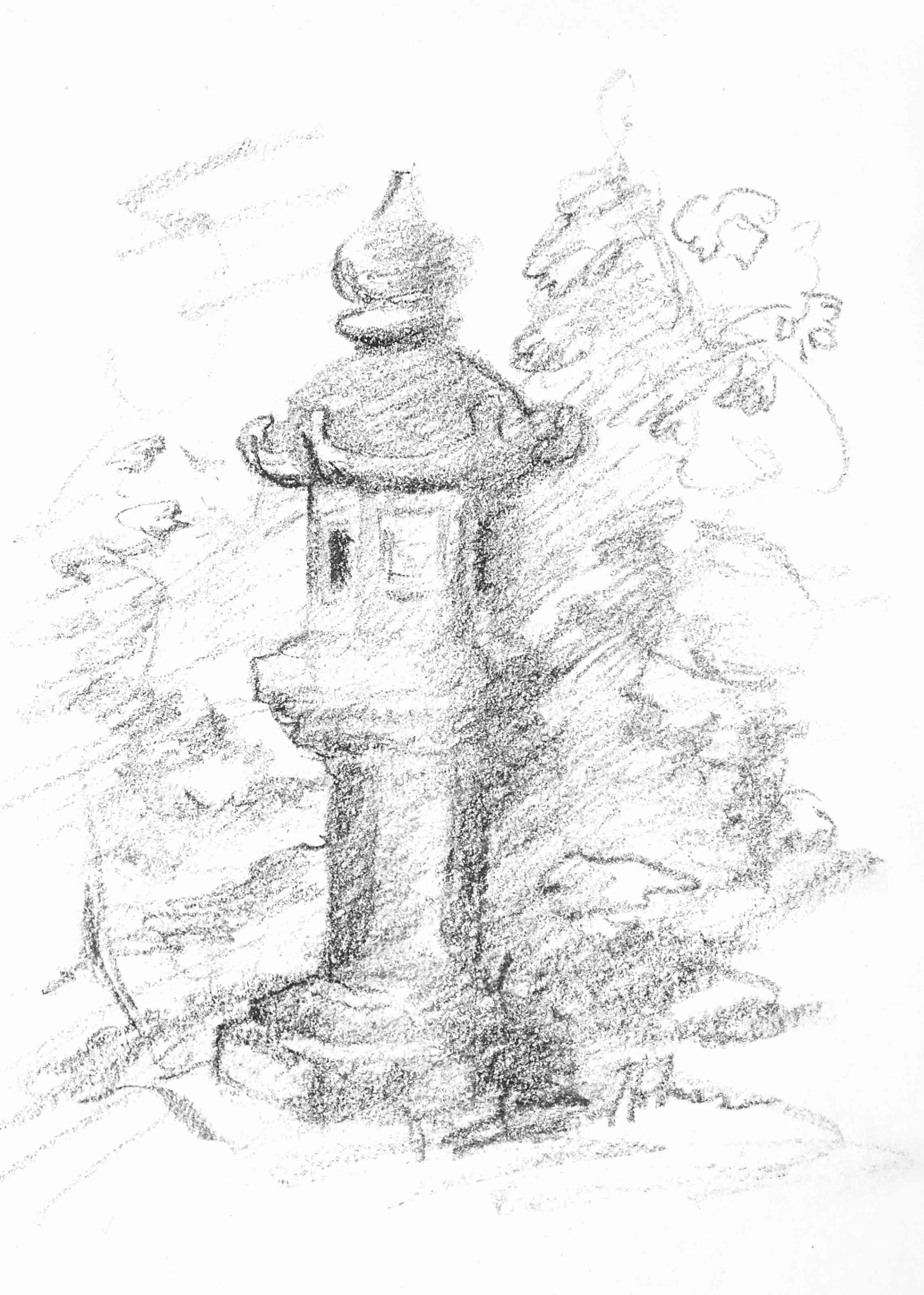 """""""Lantern in the Garden"""""""